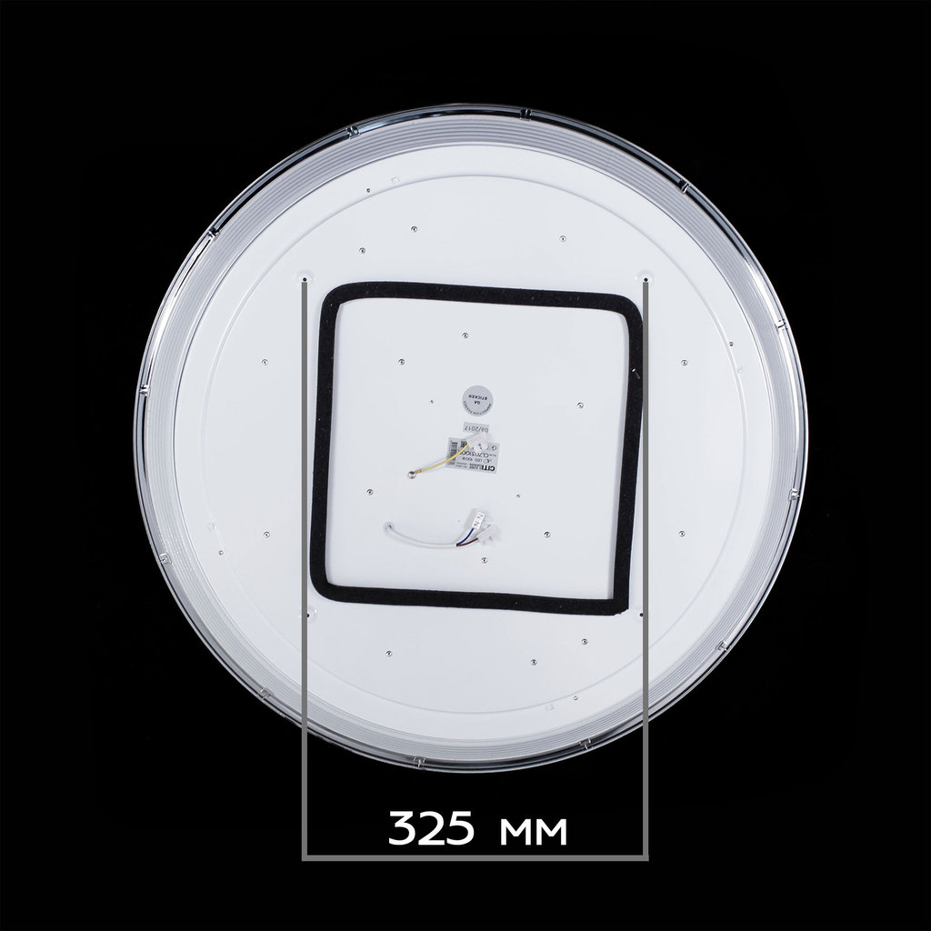 Потолочный светодиодный светильник с пультом ДУ Citilux Старлайт CL703102R, IP44, LED 100W, 3000-4500K, белый, золото, металл, пластик - фото 3