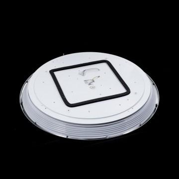 Потолочный светодиодный светильник с пультом ДУ Citilux Старлайт CL703102R, IP44, LED 100W, 3000-4500K, белый, золото, металл, пластик - миниатюра 4