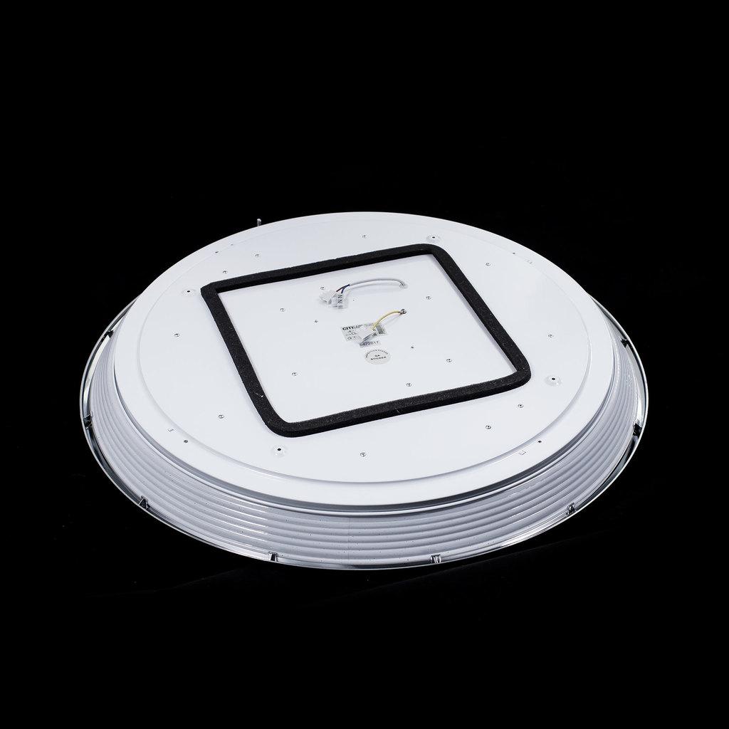 Потолочный светодиодный светильник с пультом ДУ Citilux Старлайт CL703102R, IP44, LED 100W, 3000-4500K, белый, золото, металл, пластик - фото 4