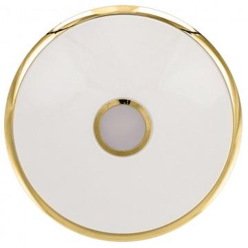 Потолочный светодиодный светильник с пультом ДУ Citilux Старлайт CL703102R, IP44, LED 100W, 3000-4500K, белый, золото, металл, пластик - миниатюра 6