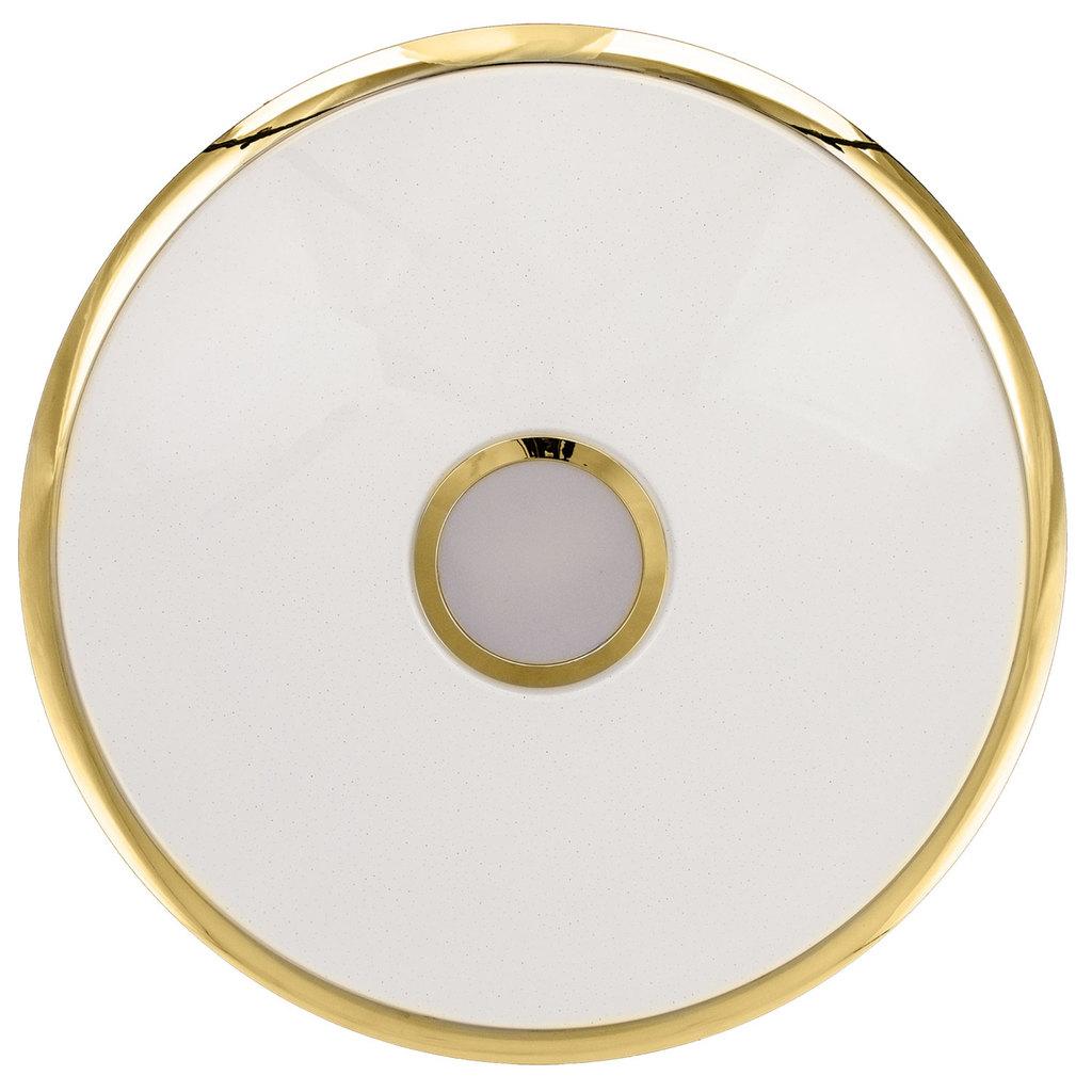 Потолочный светодиодный светильник с пультом ДУ Citilux Старлайт CL703102R, IP44, LED 100W, 3000-4500K, белый, золото, металл, пластик - фото 6