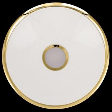 Потолочный светодиодный светильник с пультом ДУ Citilux Старлайт CL703102R, IP44, LED 100W, 3000-4500K, белый, золото, металл, пластик - миниатюра 7
