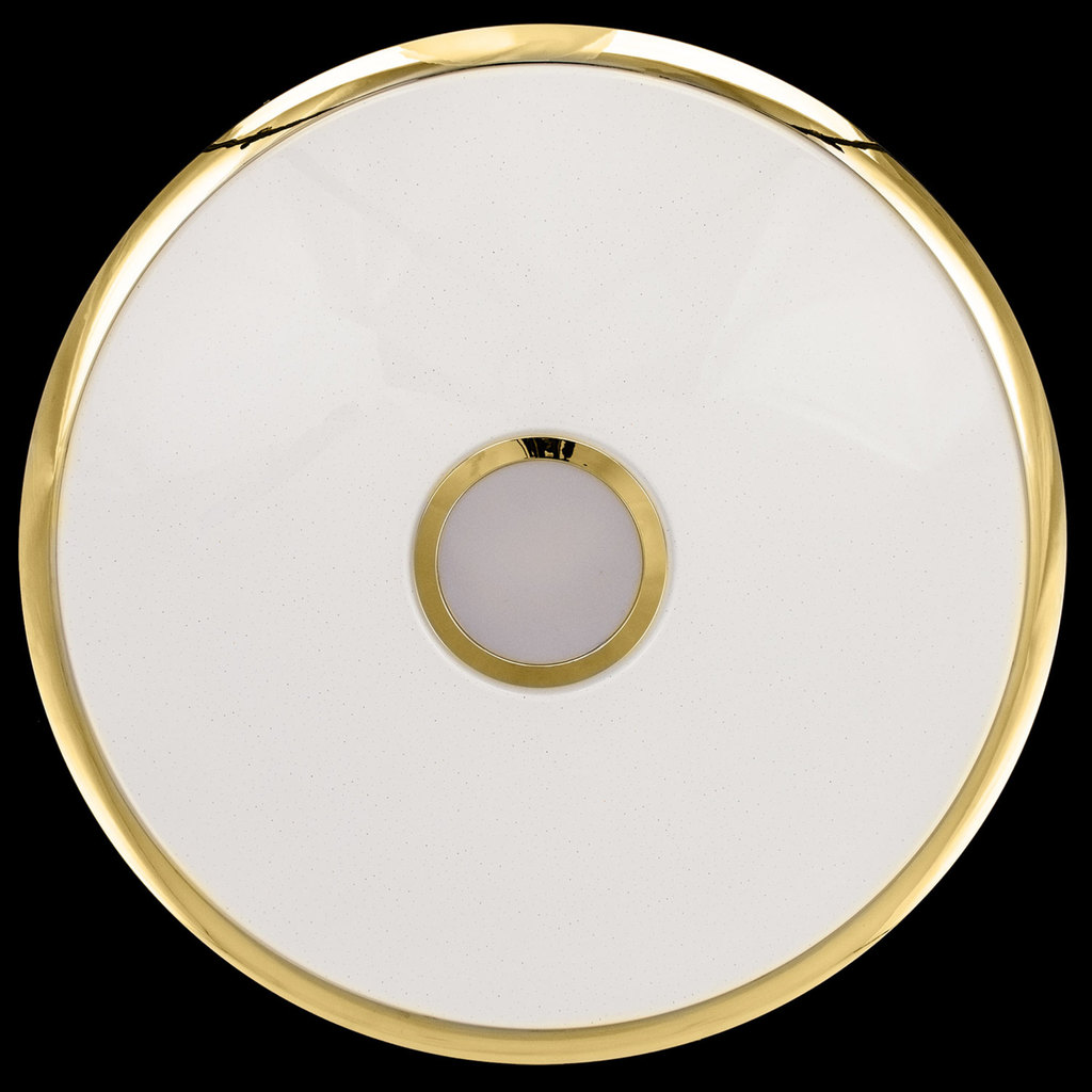 Потолочный светодиодный светильник с пультом ДУ Citilux Старлайт CL703102R, IP44, LED 100W, 3000-4500K, белый, золото, металл, пластик - фото 7