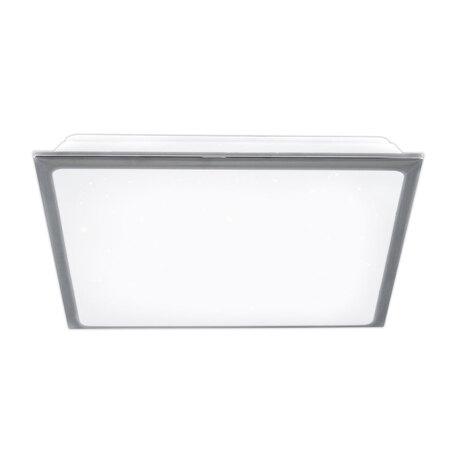 Потолочный светодиодный светильник Citilux Старлайт CL70350, IP44, LED 50W 3000K 3500lm, белый, хром, металл, металл с пластиком
