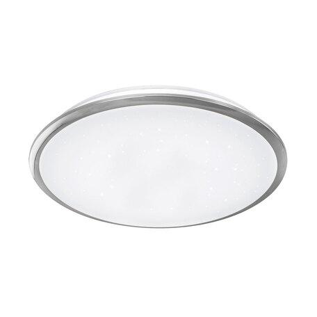 Потолочный светодиодный светильник Citilux Старлайт CL70360, IP44, LED 60W 3000K 3900lm, белый, хром, металл, металл с пластиком