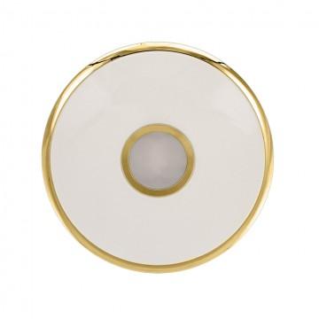 Потолочный светодиодный светильник с пультом ДУ Citilux Старлайт CL70362R, IP44, LED 60W, 3000-4500K, белый, золото, металл, пластик - миниатюра 3