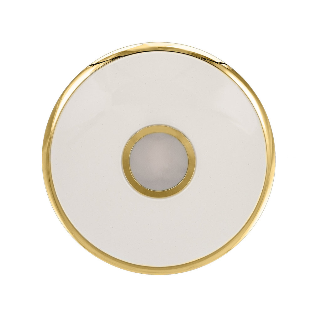 Потолочный светодиодный светильник с пультом ДУ Citilux Старлайт CL70362R, IP44, LED 60W, 3000-4500K, белый, золото, металл, пластик - фото 3
