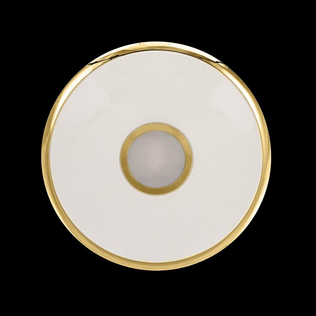 Потолочный светодиодный светильник с пультом ДУ Citilux Старлайт CL70362R, IP44, LED 60W, 3000-4500K, белый, золото, металл, пластик - фото 4