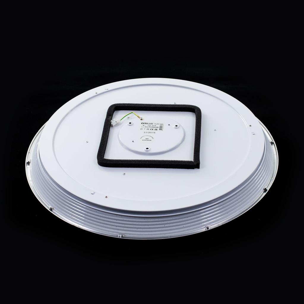 Потолочный светодиодный светильник с пультом ДУ Citilux Старлайт CL70362R, IP44, LED 60W, 3000-4500K, белый, золото, металл, пластик - фото 7