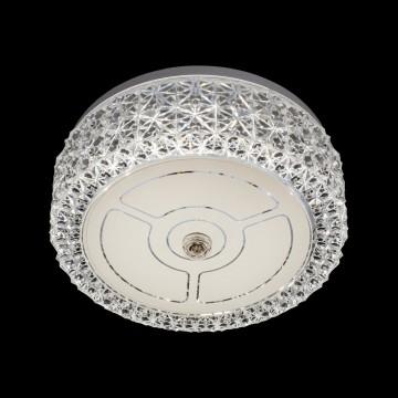 Потолочный светодиодный светильник Citilux Кристалино CL705101, LED 12W 3000K 1000lm, белый, металл, пластик - миниатюра 2