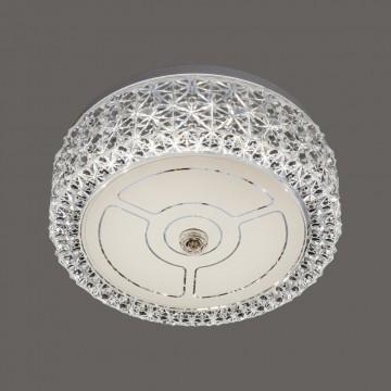 Потолочный светодиодный светильник Citilux Кристалино CL705101, LED 12W 3000K 1000lm, белый, металл, пластик - миниатюра 3