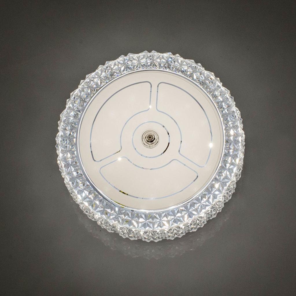 Потолочный светодиодный светильник Citilux Кристалино CL705101, LED 12W 3000K 1000lm, белый, металл, пластик - фото 5