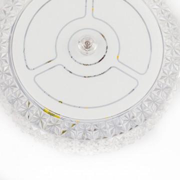 Потолочный светодиодный светильник Citilux Кристалино CL705101, LED 12W 3000K 1000lm, белый, металл, пластик - миниатюра 7