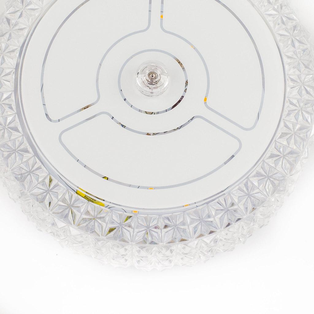 Потолочный светодиодный светильник Citilux Кристалино CL705101, LED 12W 3000K 1000lm, белый, металл, пластик - фото 7