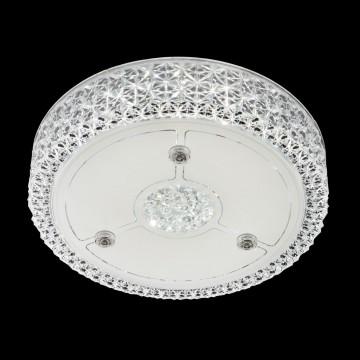 Потолочный светодиодный светильник Citilux Кристалино CL705111, LED 18W 3000K 1350lm, белый, металл, пластик - миниатюра 2