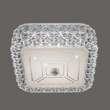 Потолочный светодиодный светильник Citilux Кристалино CL705201, LED 12W 3000K 1000lm, белый, металл, пластик - миниатюра 4