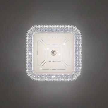 Потолочный светодиодный светильник Citilux Кристалино CL705201, LED 12W 3000K 1000lm, белый, металл, пластик - миниатюра 7