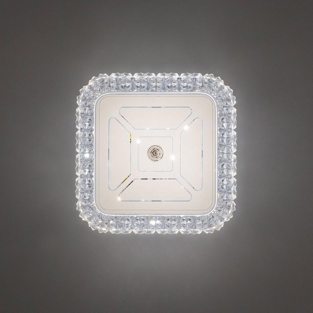 Потолочный светодиодный светильник Citilux Кристалино CL705201, LED 12W 3000K 1000lm, белый, металл, пластик - фото 7