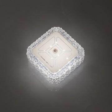 Потолочный светодиодный светильник Citilux Кристалино CL705201, LED 12W 3000K 1000lm, белый, металл, пластик - миниатюра 9