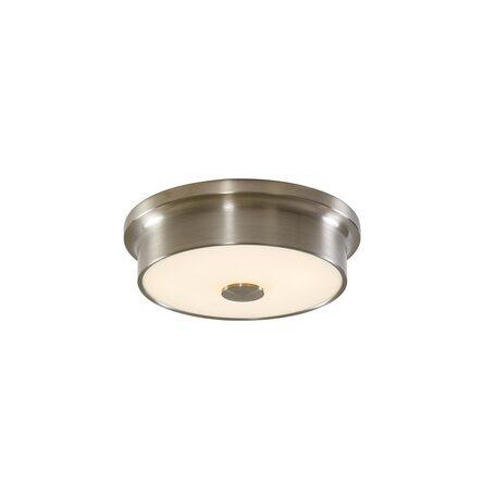 Потолочный светодиодный светильник Citilux Фостер-2 CL706211, LED 15W 3000K 975lm, матовый хром, пластик