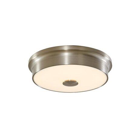 Потолочный светодиодный светильник Citilux Фостер-2 CL706221, LED 20W 3000K 1300lm, матовый хром, пластик