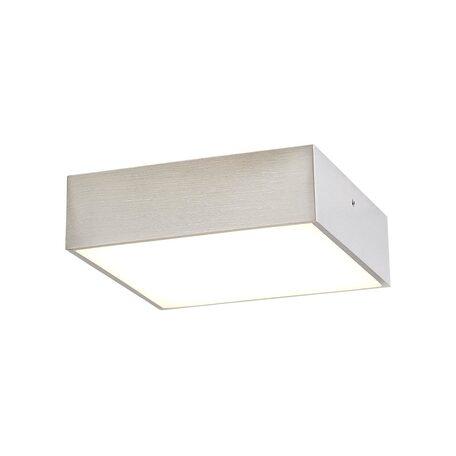 Потолочный светодиодный светильник Citilux Тао CL712K121, LED 12W 3000K 900lm, матовый хром, металл с пластиком
