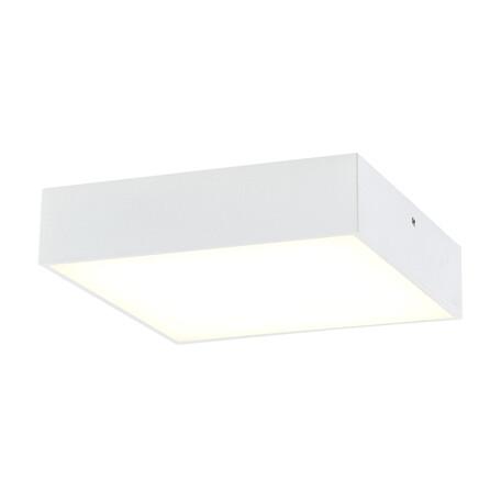 Потолочный светодиодный светильник Citilux Тао CL712K180, LED 18W, 3000K (теплый), белый, металл, пластик