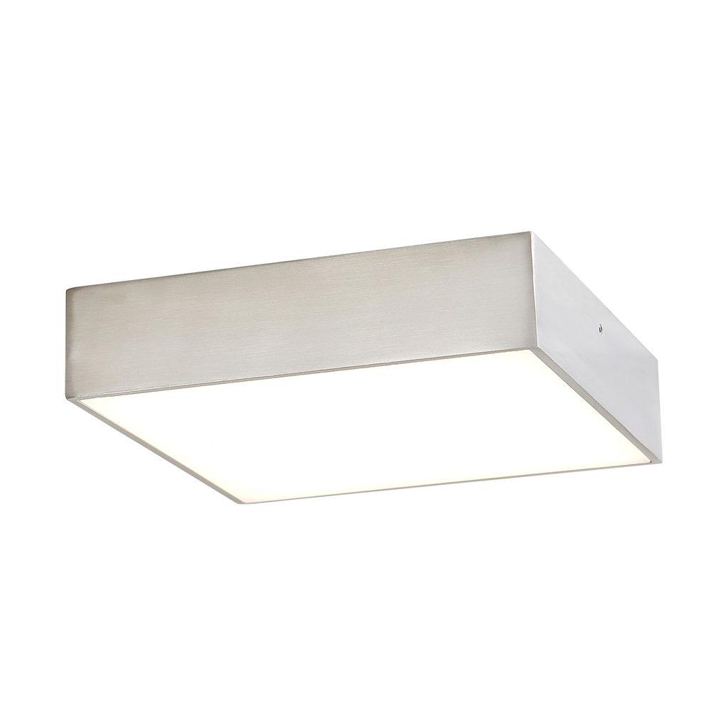 Потолочный светодиодный светильник Citilux Тао CL712K181, LED 18W 3000K 1350lm, матовый хром, металл с пластиком - фото 1