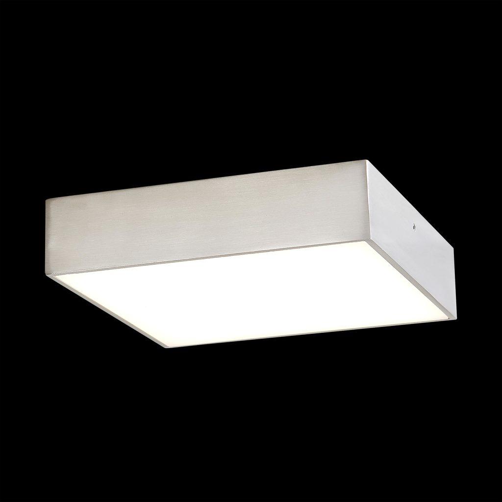Потолочный светодиодный светильник Citilux Тао CL712K181, LED 18W 3000K 1350lm, матовый хром, металл с пластиком - фото 2