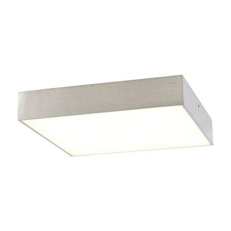 Потолочный светодиодный светильник Citilux Тао CL712K241, LED 24W, 3000K (теплый), белый, матовый хром, металл, пластик