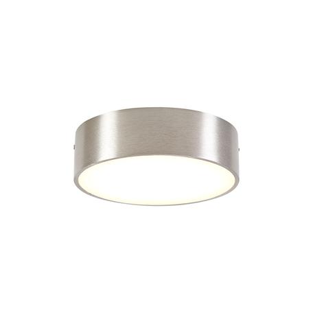 Потолочный светодиодный светильник Citilux Тао CL712R121, LED 12W, 3000K (теплый), белый, матовый хром, металл, пластик