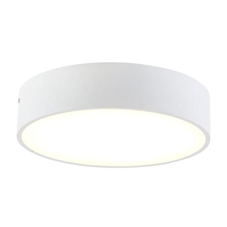 Потолочный светодиодный светильник Citilux Тао CL712R180, белый, металл, пластик