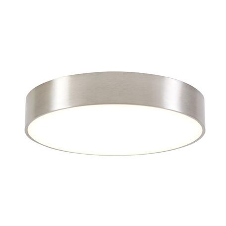 Потолочный светодиодный светильник Citilux Тао CL712R241, белый, матовый хром, металл, пластик