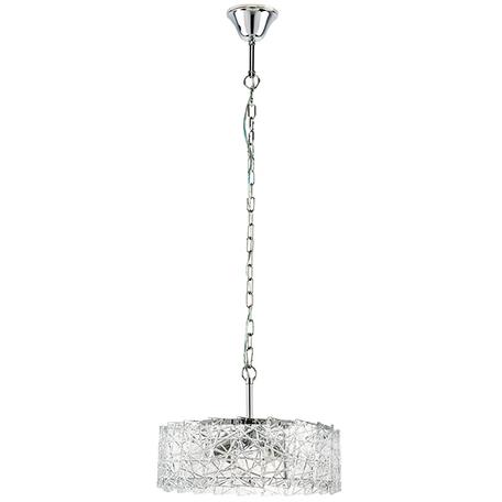 Подвесной светильник Lightstar Varese 731044, 4xE14x40W, хром, прозрачный, металл, стекло