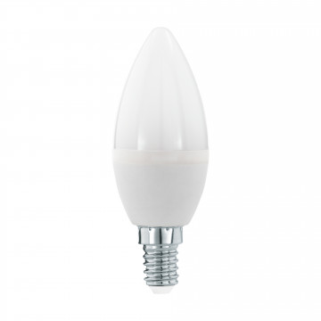 Светодиодная лампа Eglo 11643 свеча E14 5,5W, 3000K (теплый) CRI>80, гарантия 5 лет