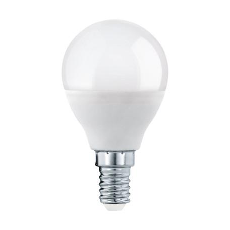 Светодиодная лампа Eglo 11644 шар малый E14 5,5W, 3000K (теплый) CRI>80, гарантия 5 лет