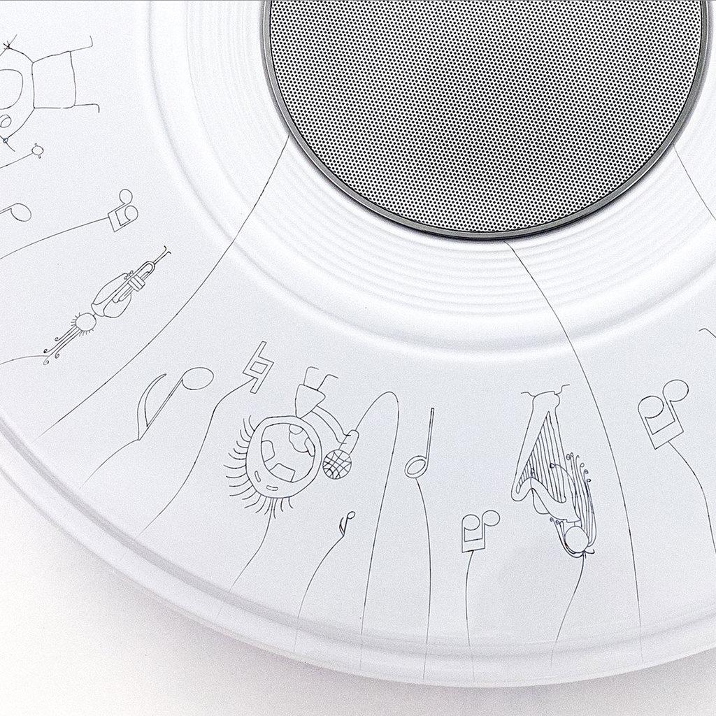 Музыкальный потолочный светодиодный светильник с пультом ДУ Citilux Старлайт CL703M50A, IP21, LED 60W 3000-4200K + RGB 3500lm, белый, металл, пластик - фото 3