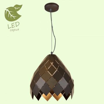 Подвесной светильник Lussole Loft Niagara GRLSP-9946, IP21, 1xE27x10W, черный, металл