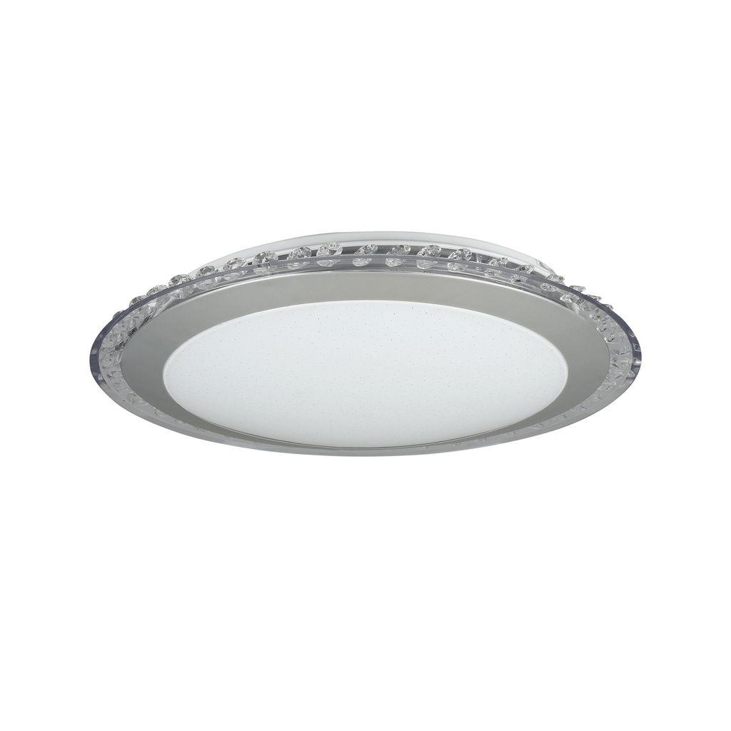 Потолочный светодиодный светильник Freya Glory FR6441-CL-18-W (fr441-18-w), LED 18W, 3000K (теплый), никель, белый, серый, металл, пластик - фото 1