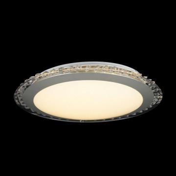 Потолочный светодиодный светильник Freya Glory FR6441-CL-18-W (fr441-18-w), LED 18W, 3000K (теплый), никель, белый, серый, металл, пластик - миниатюра 2