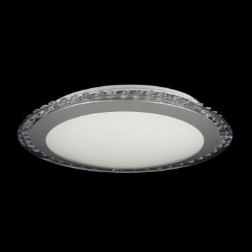 Потолочный светодиодный светильник Freya Glory FR6441-CL-18-W (fr441-18-w), LED 18W, 3000K (теплый), никель, белый, серый, металл, пластик - миниатюра 3