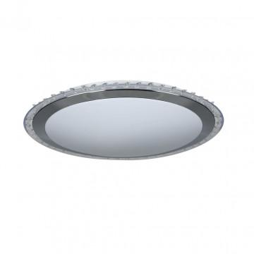 Потолочный светодиодный светильник Freya Glory FR6441-CL-30-W (fr441-30-w), LED 30W, 3000K (теплый), никель, белый, серый, металл, пластик