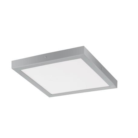 Потолочный светодиодный светильник Eglo Fueva 1 97265, LED 25W 3000K 2500lm, серебро, металл с пластиком, пластик
