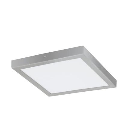 Потолочный светодиодный светильник Eglo Fueva 1 97269, LED 25W 4000K 2500lm, серебро, металл с пластиком, пластик