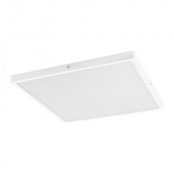 Потолочный светодиодный светильник Eglo Fueva 1 97273, LED 25W 3000K 2700lm, белый, металл с пластиком, пластик