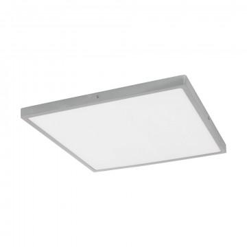 Потолочный светодиодный светильник Eglo Fueva 1 97274, LED 25W 3000K 2700lm, серебро, металл с пластиком, пластик