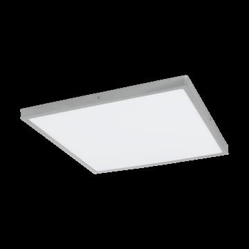 Потолочный светодиодный светильник Eglo Fueva 1 97278, LED 25W 4000K 2900lm, серебро, металл с пластиком, пластик