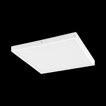 Потолочный светодиодный светильник Eglo Fueva 1 97282, LED 27W 3000K 3200lm, белый, металл с пластиком, пластик