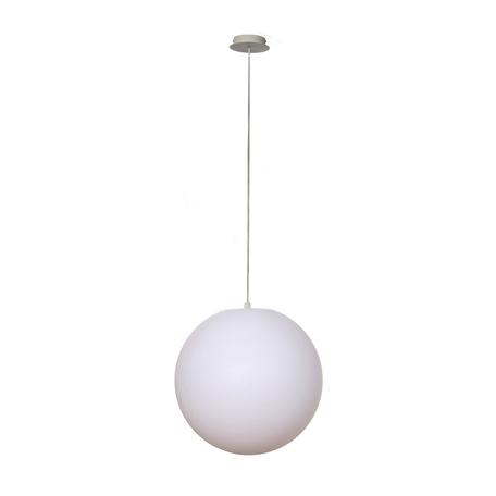 Подвесной светильник Mantra Ortos 1398, IP44, белый, металл, пластик