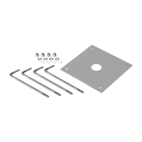 Анкер для бетона SLV BENDO 231849, серебро, металл